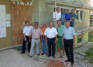 Die Stifterfamilie der Bürgerstiftung Kehl hat gestern das Wohnhaus in Kork besichtigt.