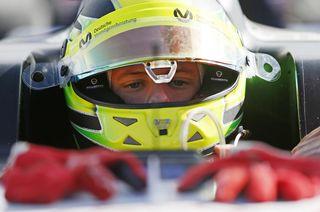 Formel-3-Rookie Mick Schumacher fuhr in Budapest zum siebten Mal in die Top 10.