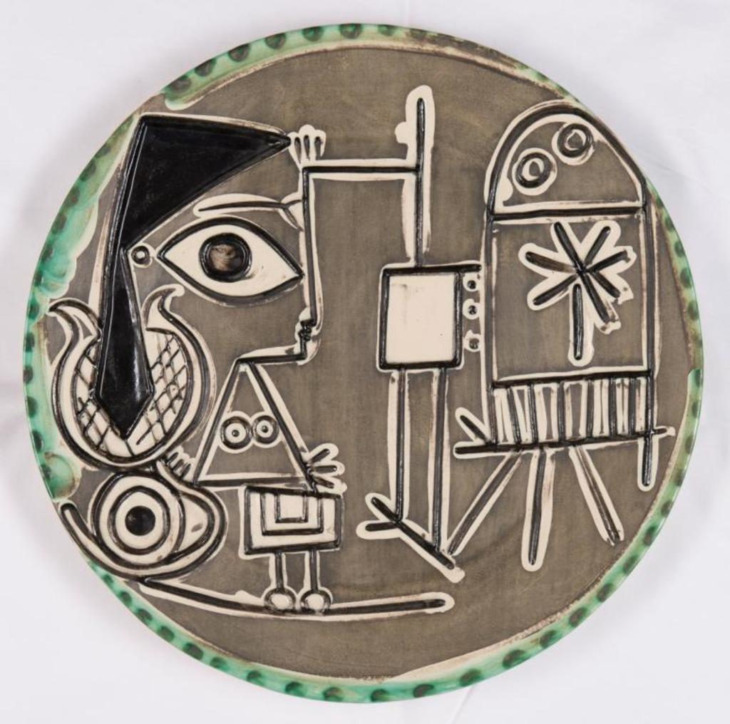 Pablo Picasso, Jacqueline au chevalet