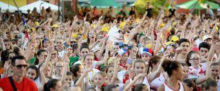 Der Dance World Cup fand unter anderem schon in Vancouver, Paris und in Bukarest statt. Am Freitag wurde der größte und bekannteste internationale Tanzwettbewerb für Kinder, Jugendliche und junge Erwachsene bis 25 Jahre in Offenburg eröffnet.
