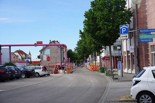 Bauarbeiten: Die Oberländerstraße wird in Richtung Hauptstraße zur Einbahnstraße.