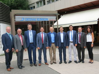 Die Bürgermeister der nördlichen Ortenau betonen die Wichtigkeit des Ortenau Klinikums in Achern.