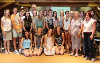 2015 wurden zuletzt Schüler aus Lagny von Bürgermeisterstellvertreterin Dr. Karla Mahne (rechts vorne) empfangen.