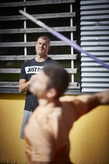 In ganz Deutschland ist Boris Obergföll unterwegs, bei Wettkämpfen auch im Ausland, doch auch in Offenburg ist er als Trainer aktiv.
