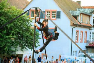 """Artistik und mehr gibt es beim """"KuKuk""""-Festival in Ettenheim zu sehen."""