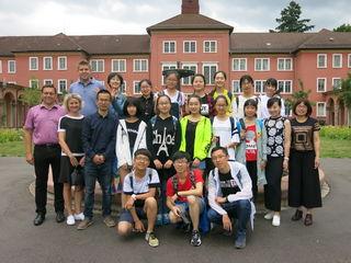 OB Klaus Muttach empfing die Schülergruppe aus China.