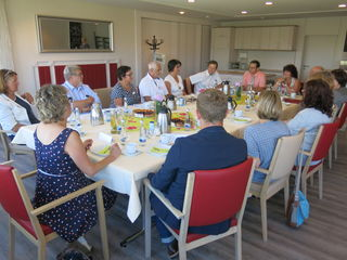 Staatssekretärin Bärbl Mielich im Gespräch mit Vertretern der Acherner stationären und ambulanten Pflegeeinrichtungen