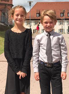 Laura Krieg und Romeo Klassen in Karlsruhe