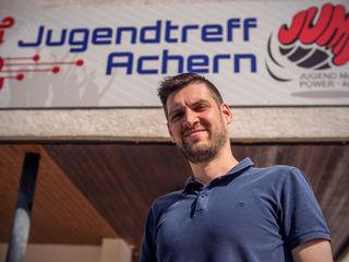 Raphael Heisch, Leiter des Jugendtreffs