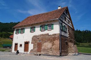 Schlössle von Effringen: Der 600 Jahre alte Fachwerkbau aus Wildberg wird am 24. und 25. März 2018 mit einem Festwochenende eröffnet. Foto: Freilichtmuseum