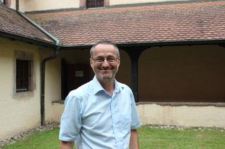 Werner Müller ist für die Betreuung der Bergwerksführer zuständig