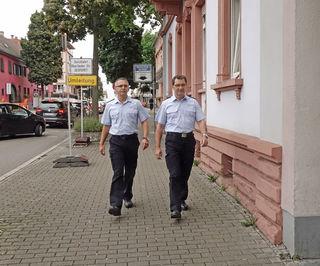 Die Mitarbeiter des Kommunalen Ordnungsdienstes der Stadt Kehl werden künftig vier Mal in der Woche in der Innenstadt und den Ortsteilen auf Streife gehen und Fälle von Ruhestörung oder Vandalismus ahnden.