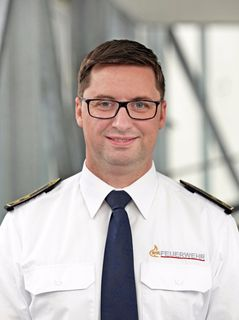 Kreisbrandmeister Bernhard Frei