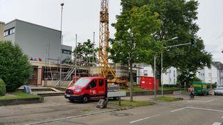 Die Arbeiten an der Erweiterung des Verwaltungsbereichs an der Gemeinschaftsschule Achern haben ein Kostenvolumen von 920.000 Euro.