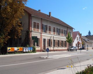 """Das ehemalige Gasthaus """"Sternen"""" in Freistett stand lange leer, jetzt tut sich etwas."""