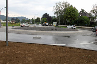 Die Bauarbeiten sind zwei Monate vor der geplanten Zeit.