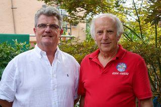 Thomas Zink (l.) und Josef Erdrich