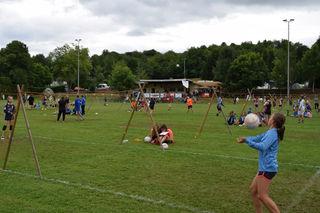 Fünf Tage lang beherrschte der Faustball die badische Metropole Kippenheim.