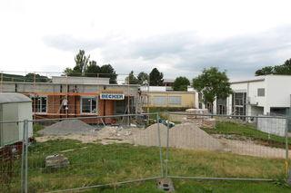 Die Arbeiten am Musikzentrum des Hans-Furler-Gymnasiums in Oberkirch sind derzeit voll im Gange.
