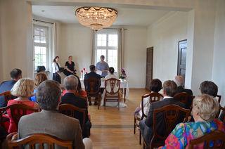 Der neue Trausaal in der Villa Schmidt bietet Brautpaaren ein ganz besonderes Ambiente.