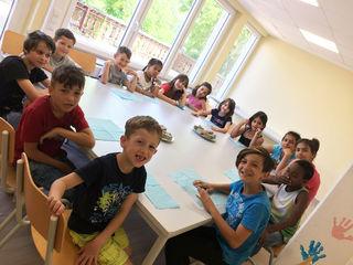 Auch für die Kinder gibt es in der Unterkunft Programme.