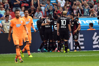 Leverkusen spielte gerade in der ersten Halbzeit groß auf, ging verdient in Führung und durfte auch zu recht jubeln. Für drei Punkte reichte es am Ende jedoch nicht.