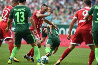 Für Bayern gab es gestern fast kein Durchkommen in der Bremer Abwehr.