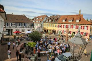 Im Zuge der Innenstadtentwicklung wurde im Mai der sanierte Marienplatz eingeweiht.