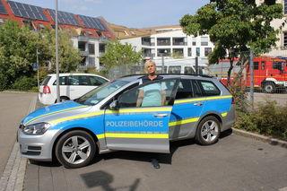 Die städtische Polizeibehörde in Lahr ist äußerlich der Polizei zum Verwechseln ähnlich