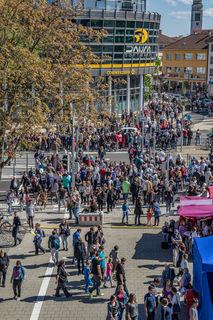 Veranstaltungen bedeuten große Menschenmengen.