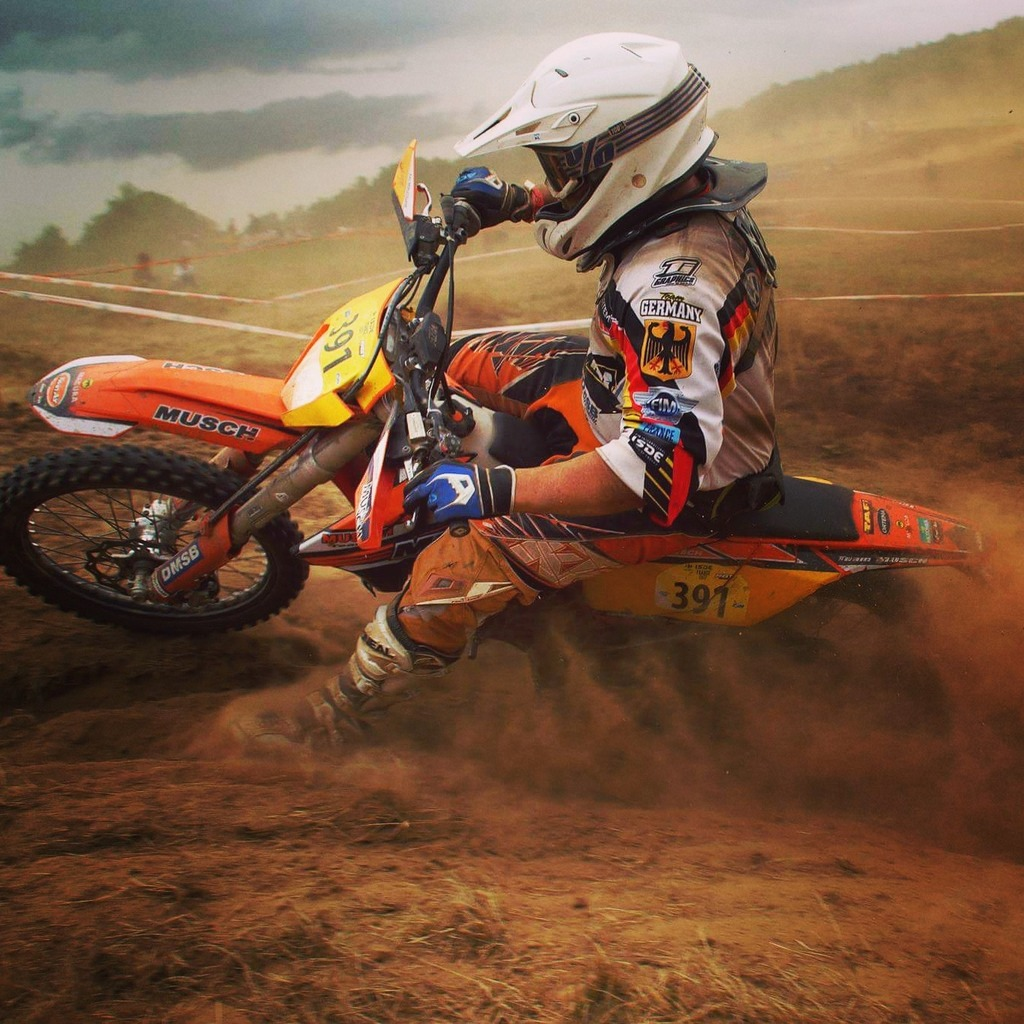 Enduro-Fahrer Kai Bräutigam aus Lahr bei den Six Days in Aktion