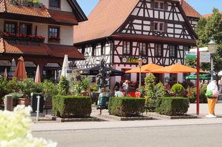 Kappelrodecks Marktplatz: Die Kommunen sind genau wie der Regionalverband an einer Stärkung der Innenstädte und Ortszentren interessiert.
