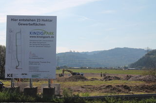 Von der Nordspange zwischen Gengenbach und Berghaupten geht in das interkommunale Gewerbegebiet Kinzigpark.