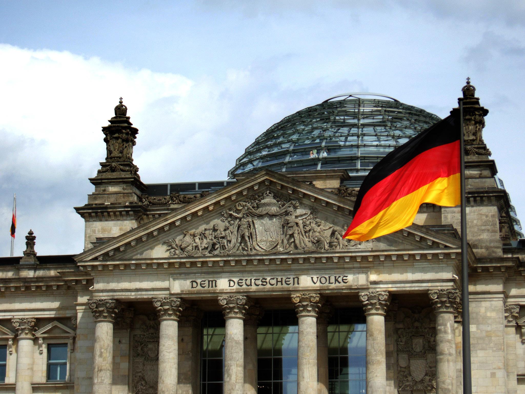 Historischer Tagungsort des Bundestags: das Reichstagsgebäude im Zentrum Berlins