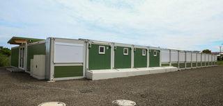 Die Stadt Mahlberg will das Flüchtlingscontainerdorf in Orschweier kaufen.