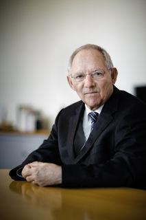 Bereit für das Amt des Bundestagspräsidenten: Wolfgang Schäuble, seit 1972 Abgeordneter