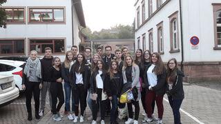 15 Jugendliche aus Agias fühlten sich wohl bei ihren Gastgebern in Ettenheim.