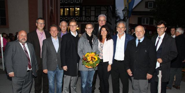 Gregor Bühler gratulierten seine zukünftigen Amtskollegen.