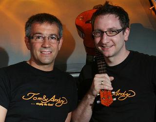 """Die Partyband """"Tom & Andy""""  sorgt für tolle Stimmung."""