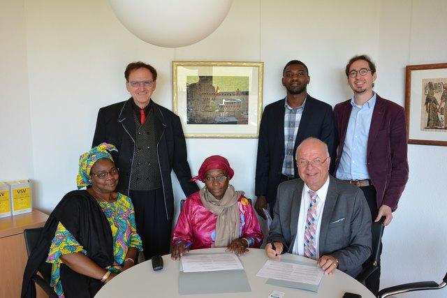 Das Centre de Formation des Collectivités Territoriales du Mali und die Hochschule für öffentliche Verwaltung Kehl vereinbarten eine Vertiefung der Zusammenarbeit in Wissenschaft und Lehre.
