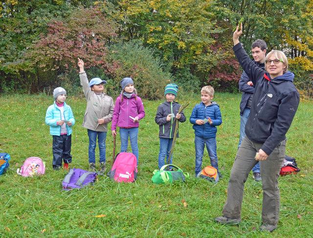 """Der kostenlose Unterricht im """"Grünen Klassenzimmer"""" wird von der städtischen Umweltpädagogin Insa Espig für alle Altersstufen angeboten."""
