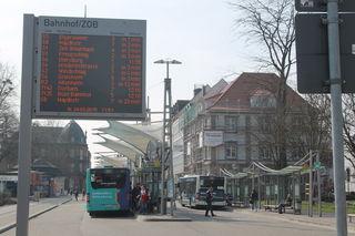 Das neue Stadtbus-Konzept beinhaltet neue und veränderte Haltestellen, um den 15-Minuten-Takt einhalten zu können.