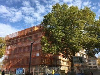 Der Umbau der alten Tulla-Realschule hat seine Tücken.