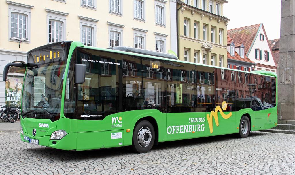 Das neue Design der Offenburger Stadtbusse
