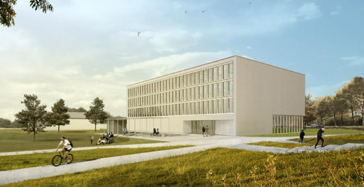 Ansicht des Regionalen Innovationszentrums für Energietechnik
