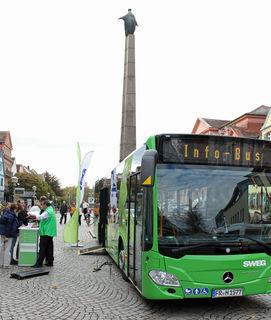 Zur Vorstellung der neuen Linienführungen gibt es am Freitag ab 14 Uhr vor dem Historischen Rathaus ein Eröffnungsfest.