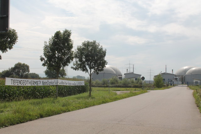 Seit fünf Jahren dauern die Proteste gegen das Geothermie-Projekt an.