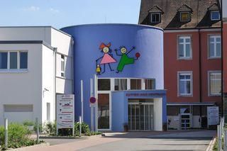 Das Mutter-Kind-Zentrum des Ortenau Klinikums am Standort Ebertplatz in Offenburg