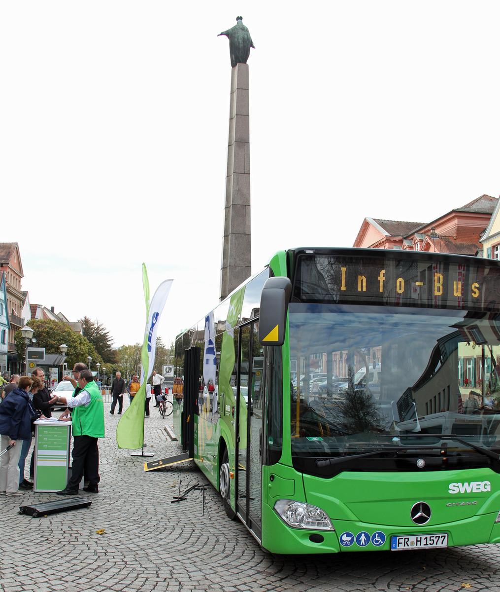 Über die Veränderungen im Offenburger Busliniennetz wird seit Wochen informiert.