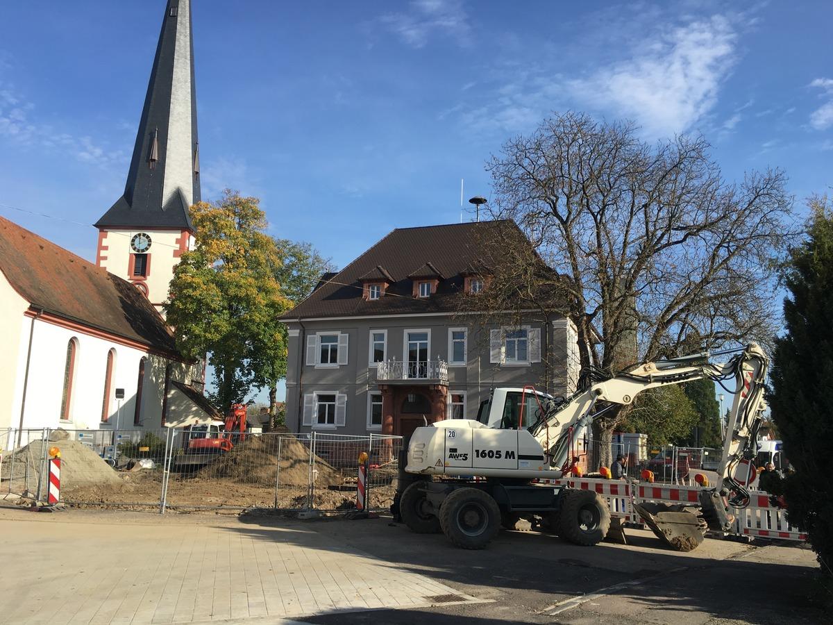 Auf der Zielgeraden: Die Sanierung der Ottenheimer Ortsmitte